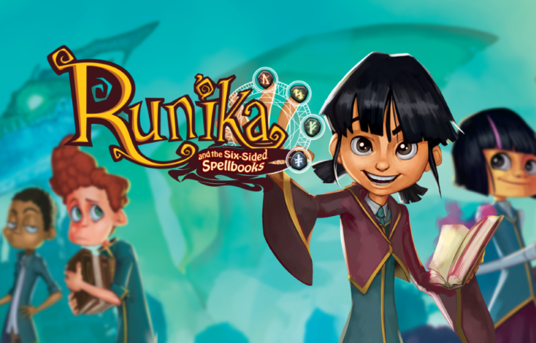 Runika and the Six-sided Spellbook